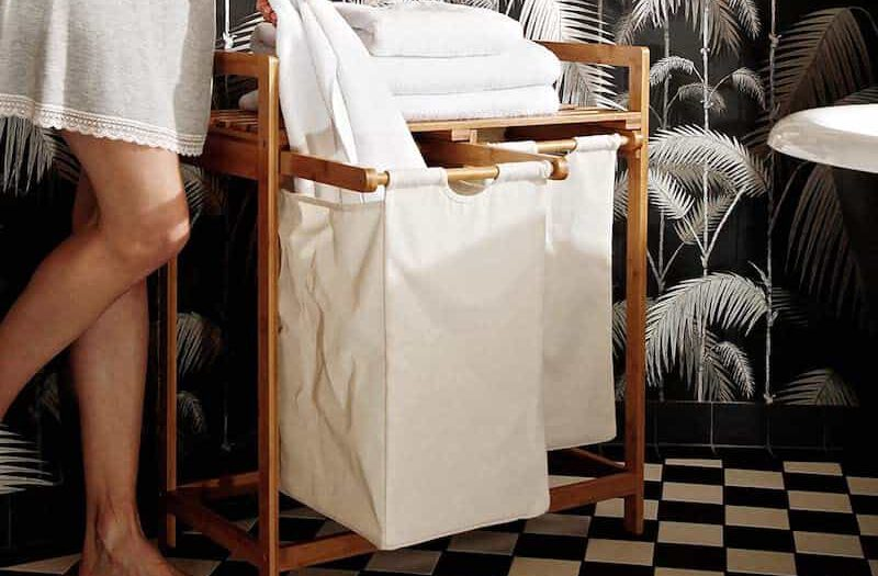 Lumaland Waeschesammler im Badezimmer